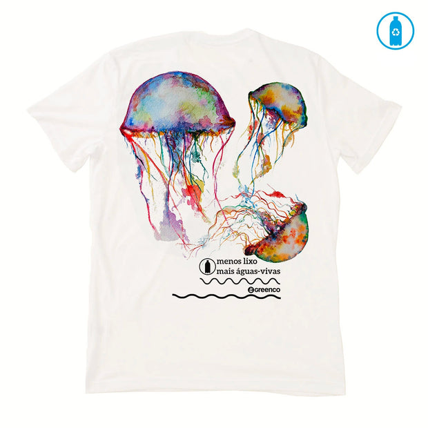 Recycled Polyester (PET) Women's T-Shirt - Jellyfish