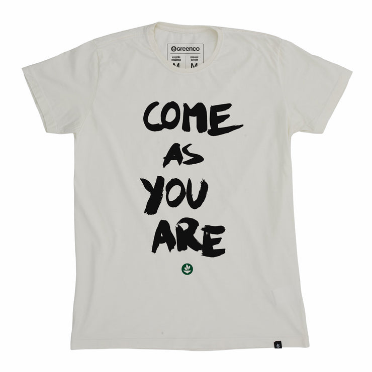 Organic Cotton Men's T-Shirt - Come as you are