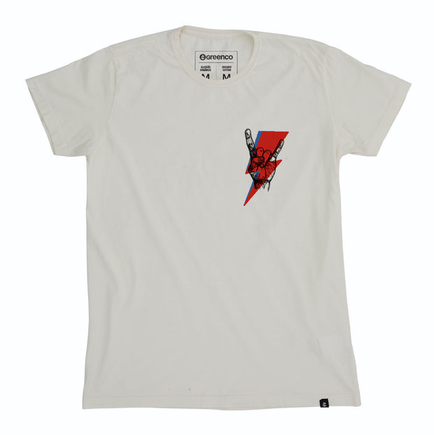 Organic Cotton Men's T-Shirt - Rock Bolt