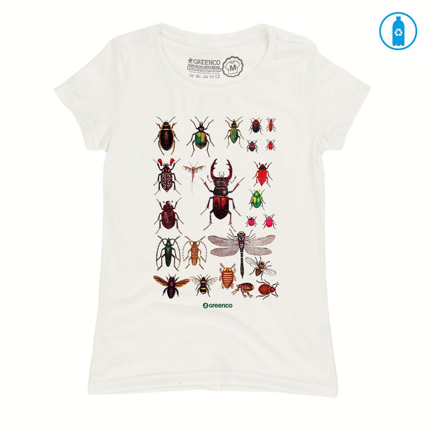 Recycled Polyester (PET) Women's T-Shirt - Insects