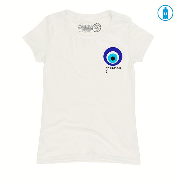 Recycled Polyester (PET) Women's T-Shirt - Greek Eye