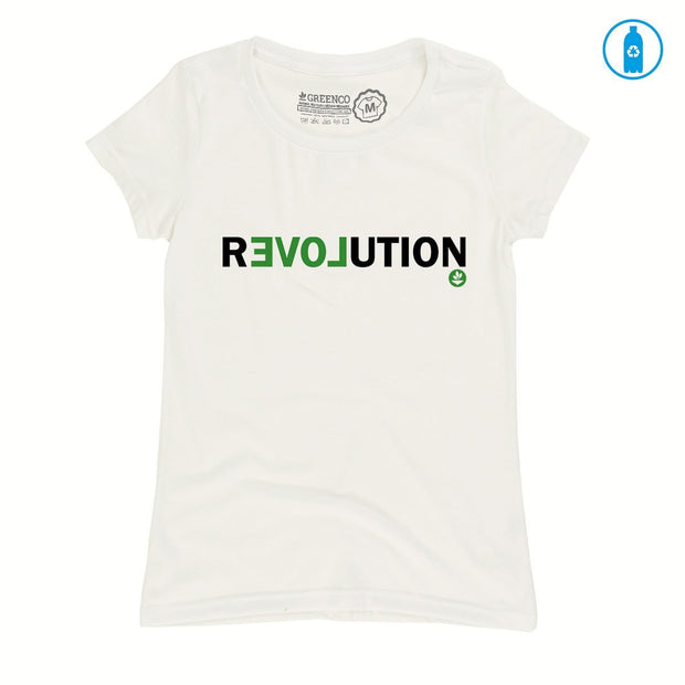 Recycled Polyester (PET) Women's T-Shirt - Revolution
