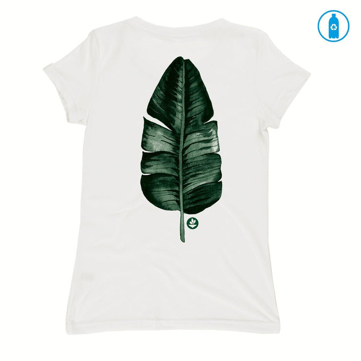 Recycled Polyester (PET) Women's T-Shirt - Long Live Green