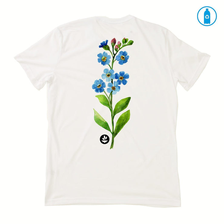 Recycled Polyester (PET) Men's T-Shirt - Watercolor Flower 2