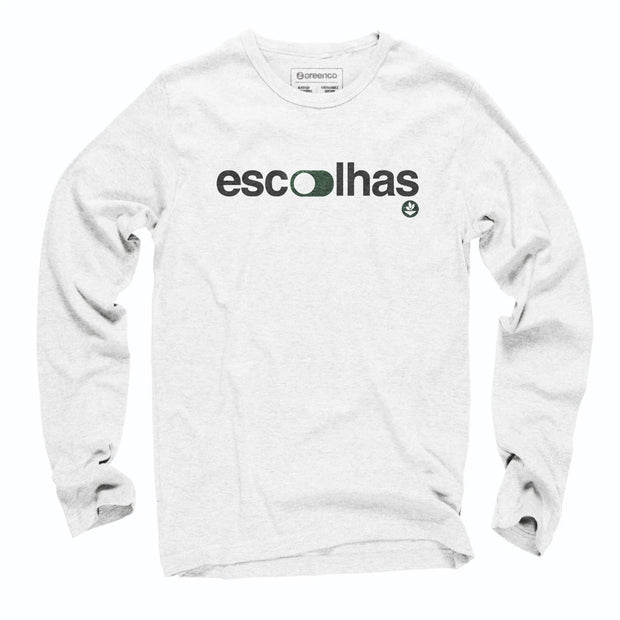 Sustainable Cotton Long Sleeve T-Shirt - Escolhas