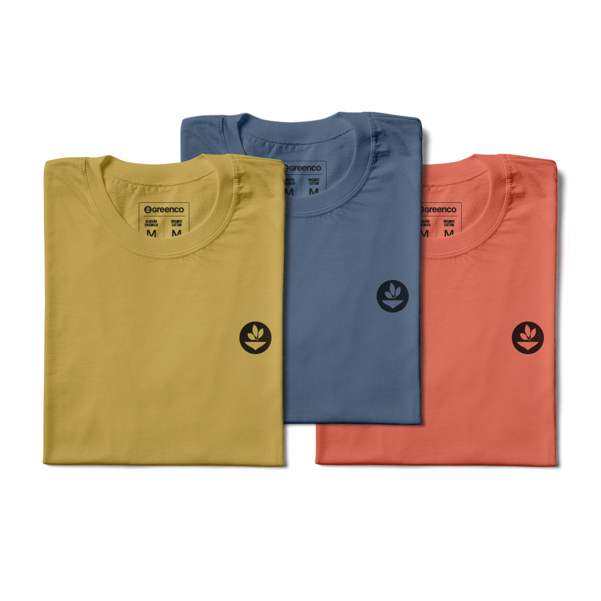Basic Women's Kit Organic Cotton - 3 t-shirts