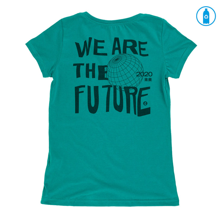 Recycled Polyester (PET) Women's T-Shirt - We are the future