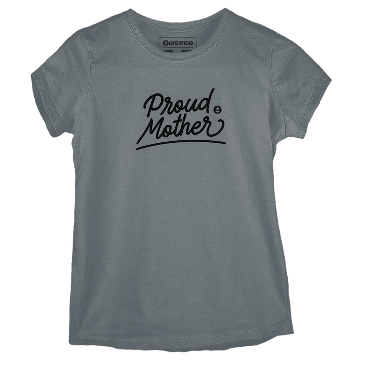 Sustainable Cotton Women's T-Shirt - Proud Mother