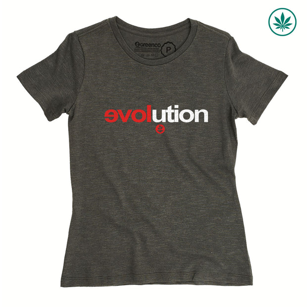 Hemp Women's T-Shirt - Evolution
