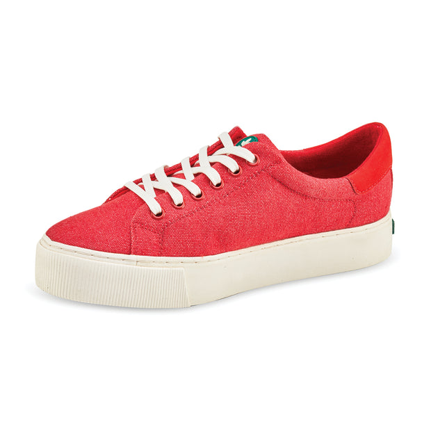 Women's Greenco Atlantic Ocean Sneakers - Red