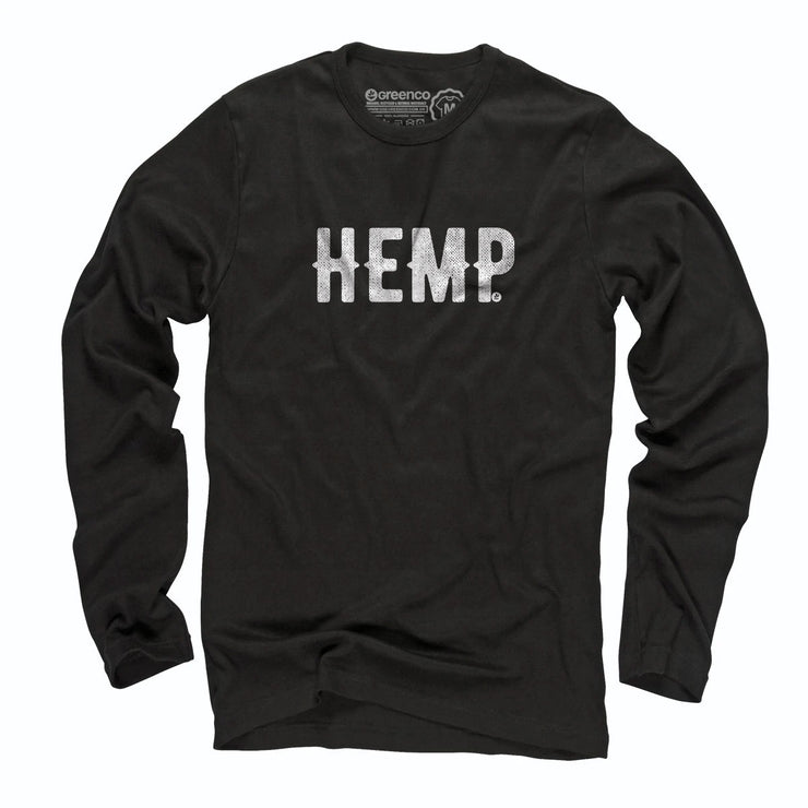 Sustainable Cotton Long Sleeve T-Shirt - Hemp