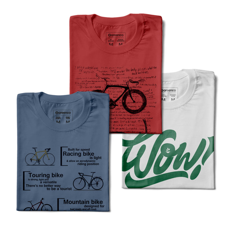 Kit Men's T-shirts - Materials