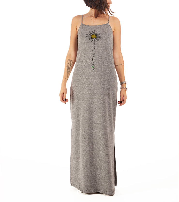 Recycled Polyester (PET) Maxi Dress - Let it be