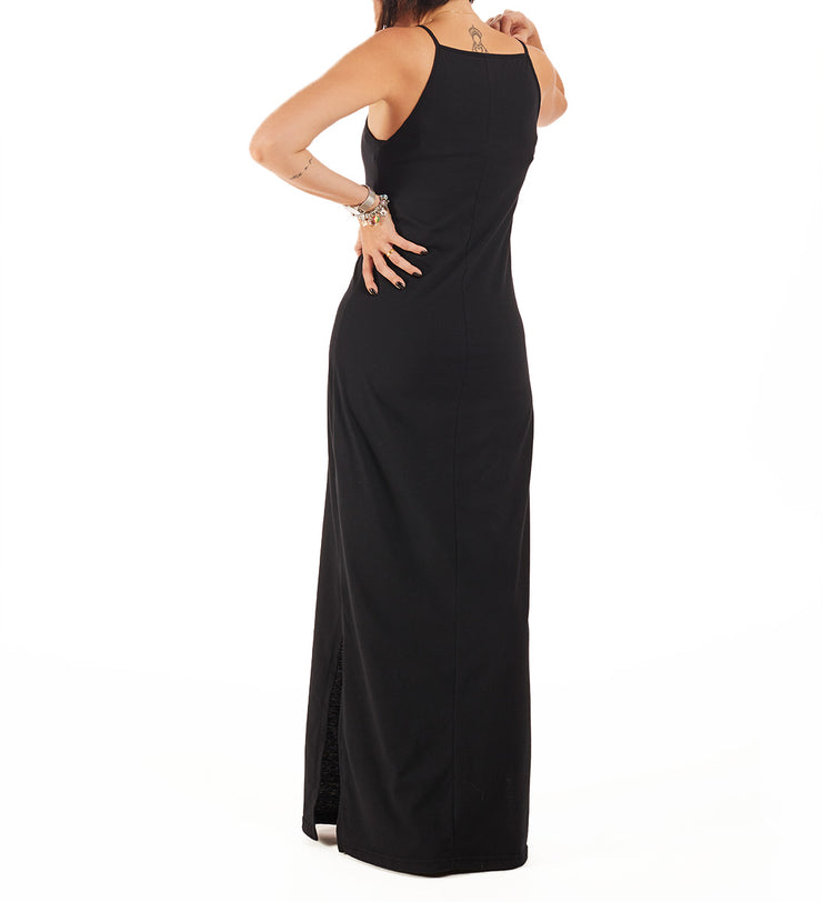 Recycled Polyester (PET) Maxi Dress - Livre, feliz & sorora