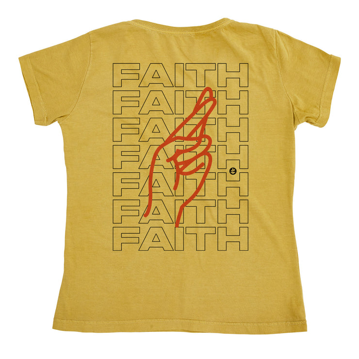 Organic Cotton Women's T-Shirt - Faith