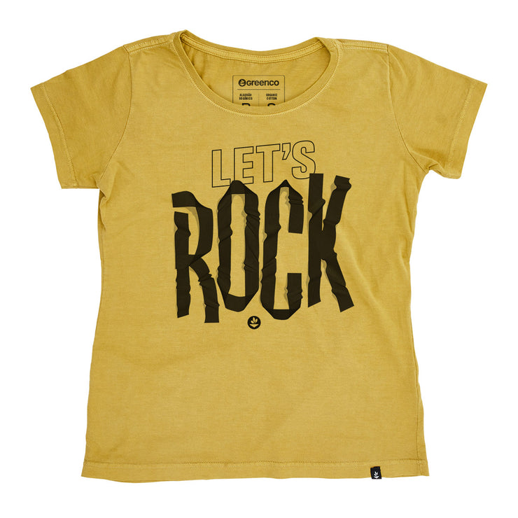 Organic Cotton Women's T-Shirt - Let's Rock