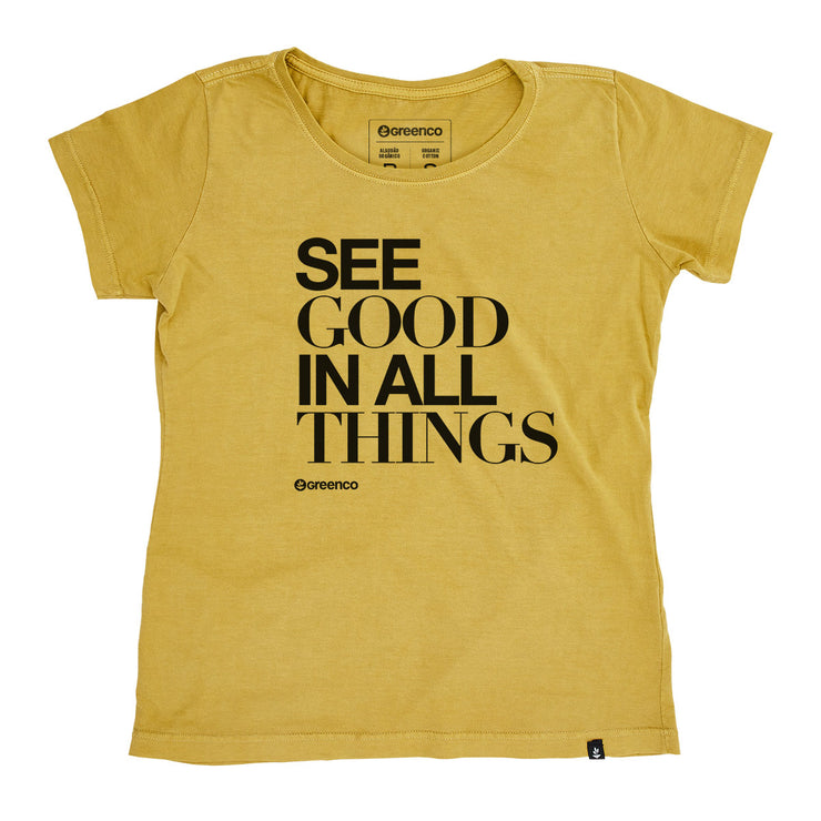Organic Cotton Women's T-Shirt - See good in all things