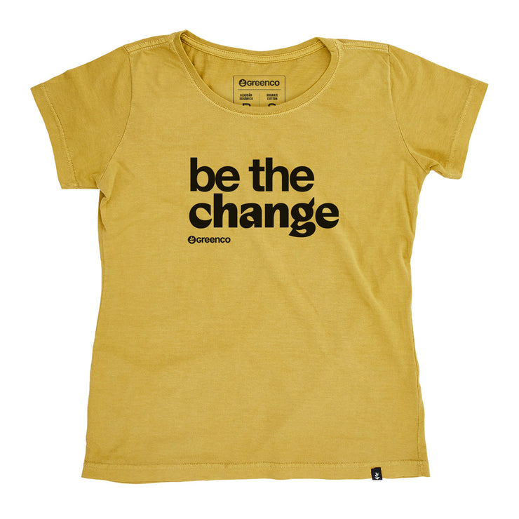 Organic Cotton Women's T-Shirt - Be the change