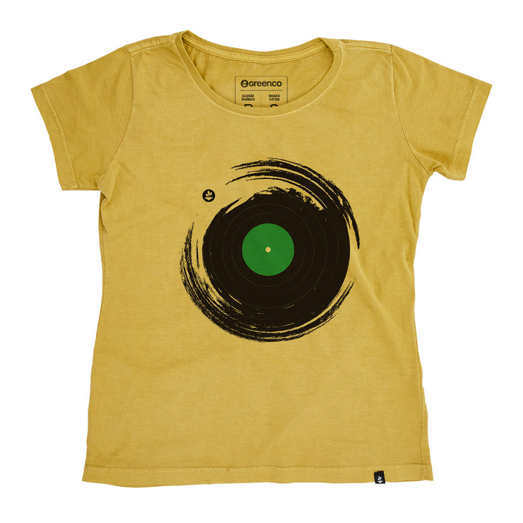Organic Cotton Women's T-Shirt - Vinil Brush
