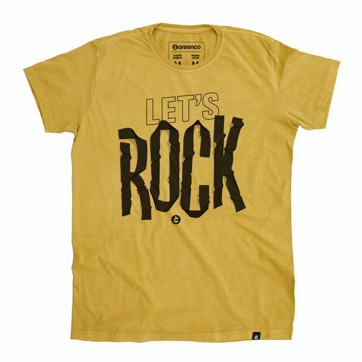 Organic Cotton Men's T-Shirt - Let's Rock