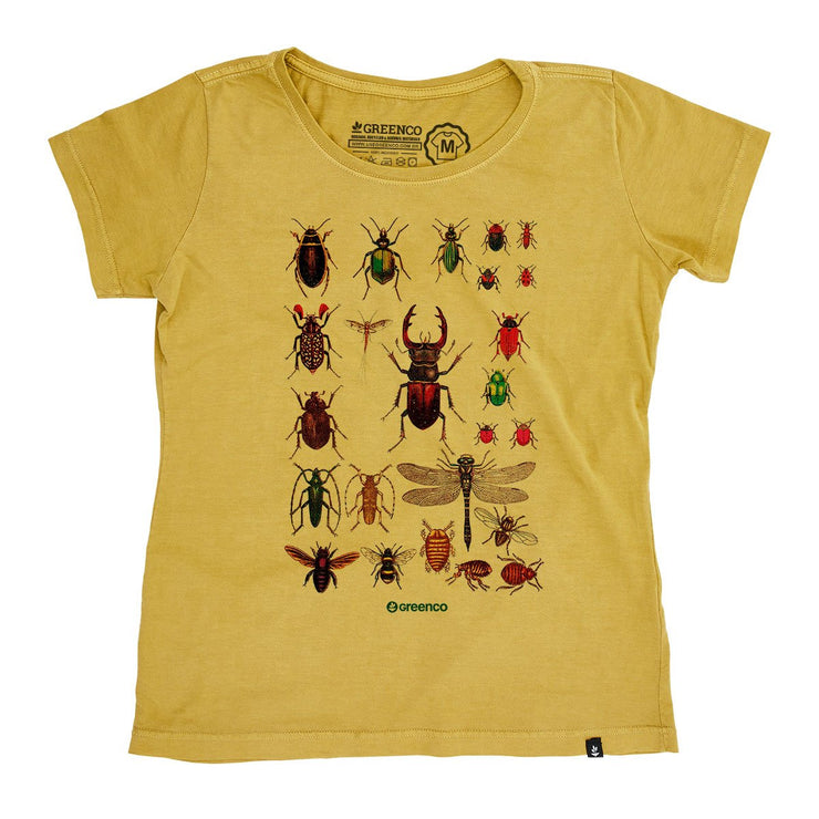 Organic Cotton Women's T-Shirt - Insects