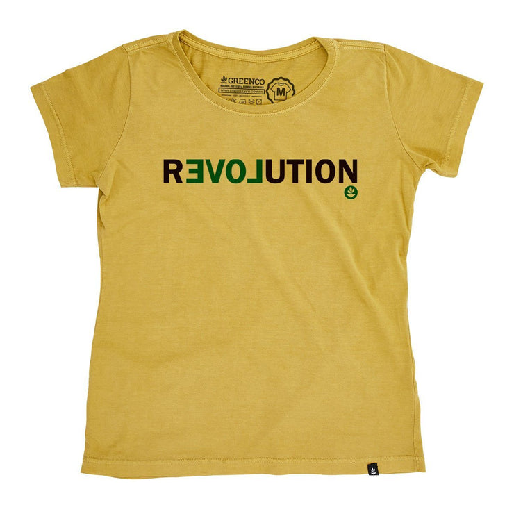 Organic Cotton Women's T-Shirt - Revolution