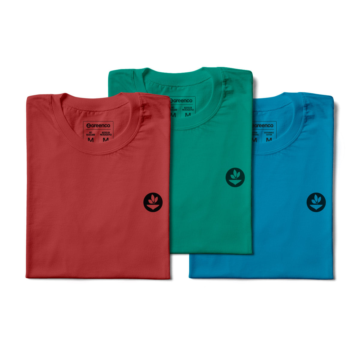 Basic Women's Kit Recycled Polyester (PET) - 3 t-shirts