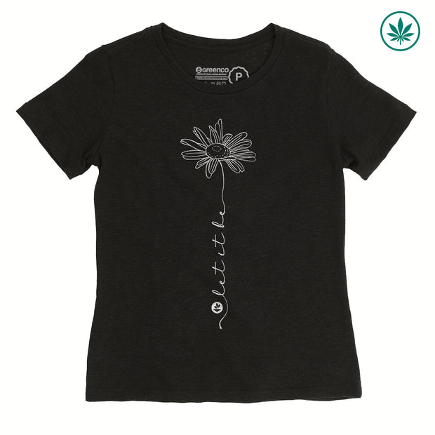 Hemp Women's T-Shirt - Let it Be