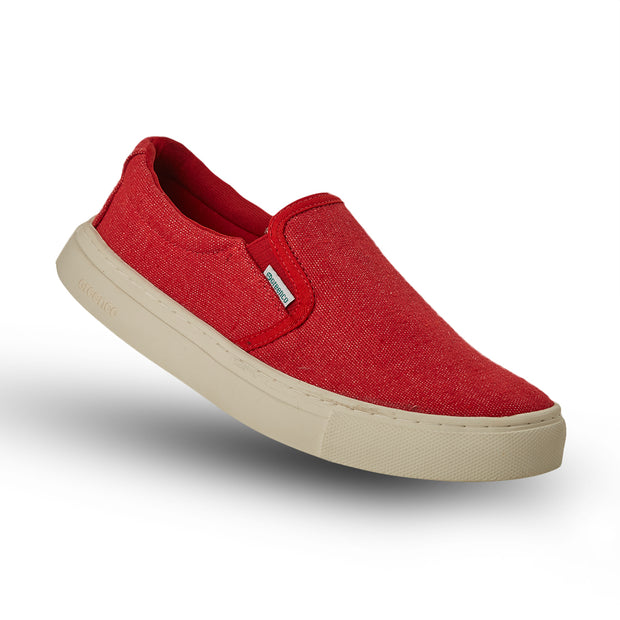 Women's Greenco Caribbean Sneakers - Red
