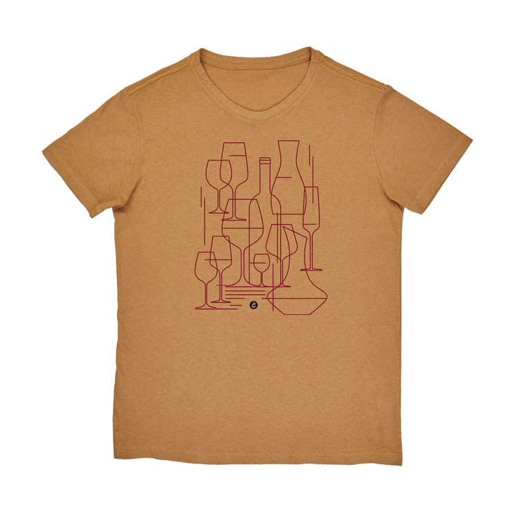 Recotton Men's T-shirt - Graphic Wine