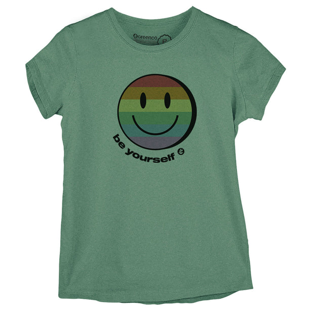 Sustainable Cotton Women's T-Shirt - Be Yourself