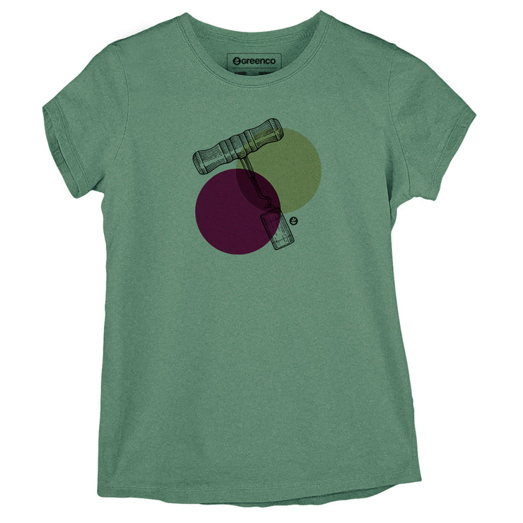 Sustainable Cotton Women's T-Shirt - Corkscrew