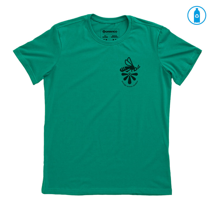Recycled Polyester (PET) Men's T-Shirt - Protect our bees