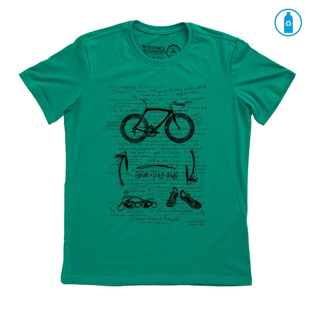Recycled Polyester (PET) Men's T-Shirt - Triathlon