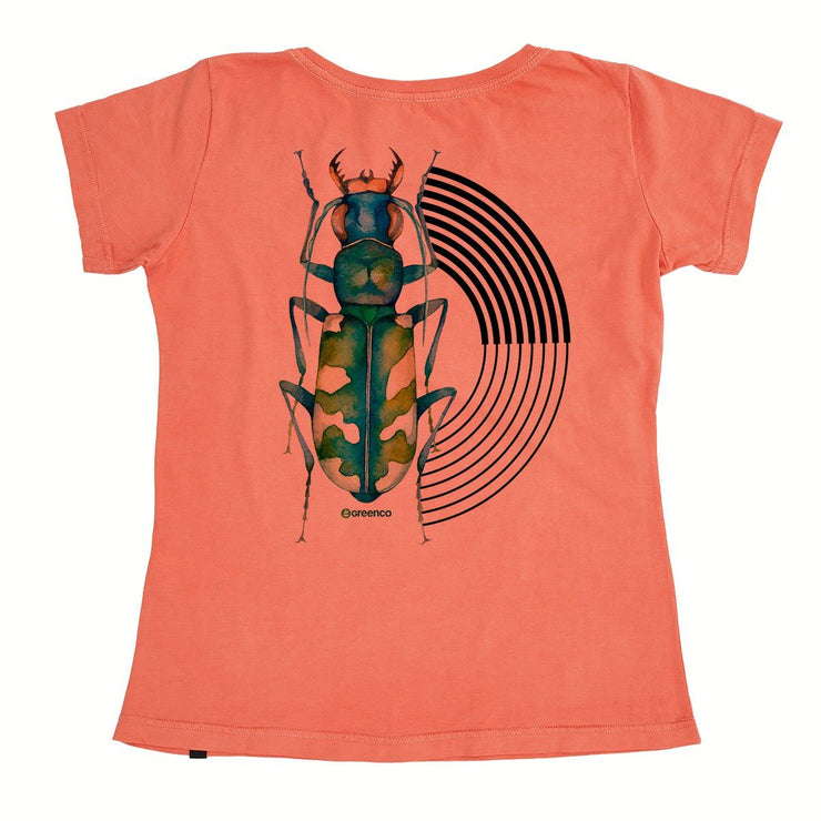 Organic Cotton Women's T-Shirt - Graphic Beetle