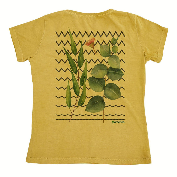 Organic Cotton Women's T-Shirt - Graphic Greenery
