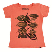 Organic Cotton Women's T-Shirt - Graphic Leaves