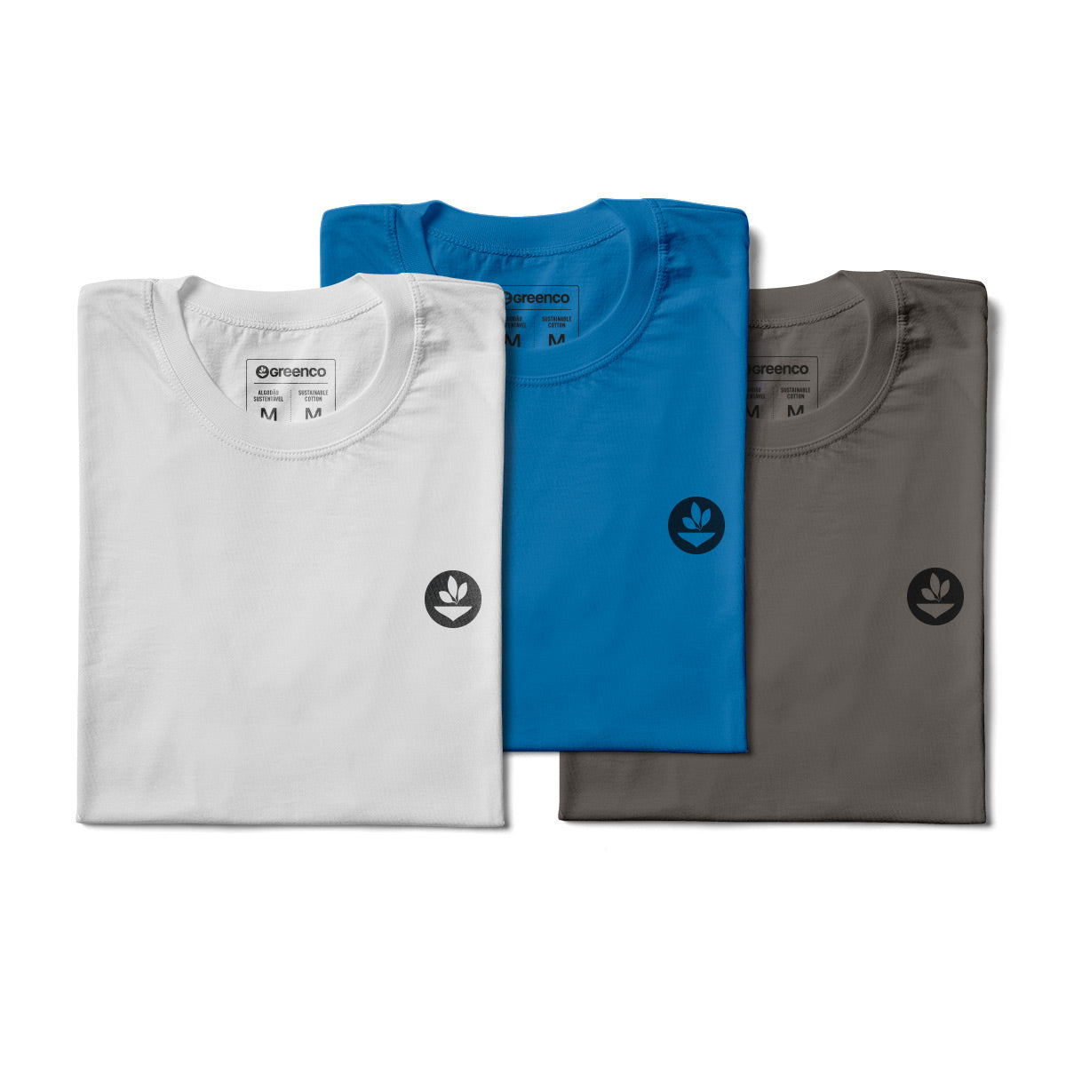 Basic Men's Kit Sustainable Cotton - 3 t-shirts