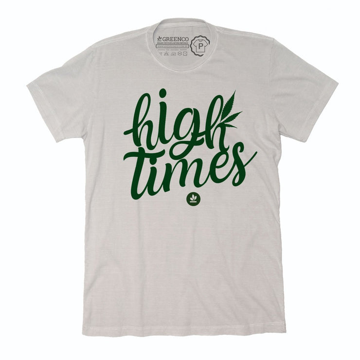 Sustainable Cotton Men's T-Shirt - High Times