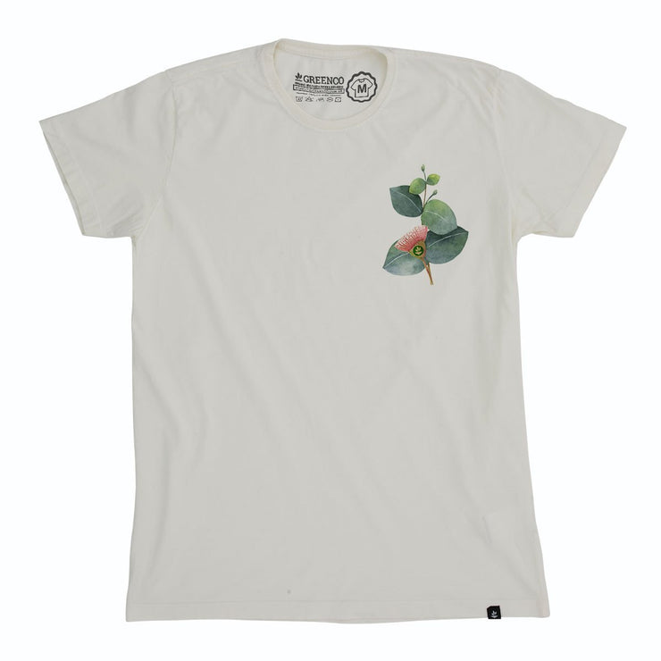 Organic Cotton Men's T-Shirt - Orquid Pocket Logo