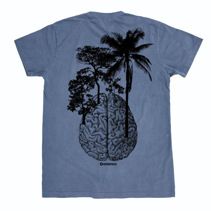 Organic Cotton Men's T-Shirt - Brain Trees