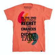 Organic Cotton Men's T-Shirt - Regret