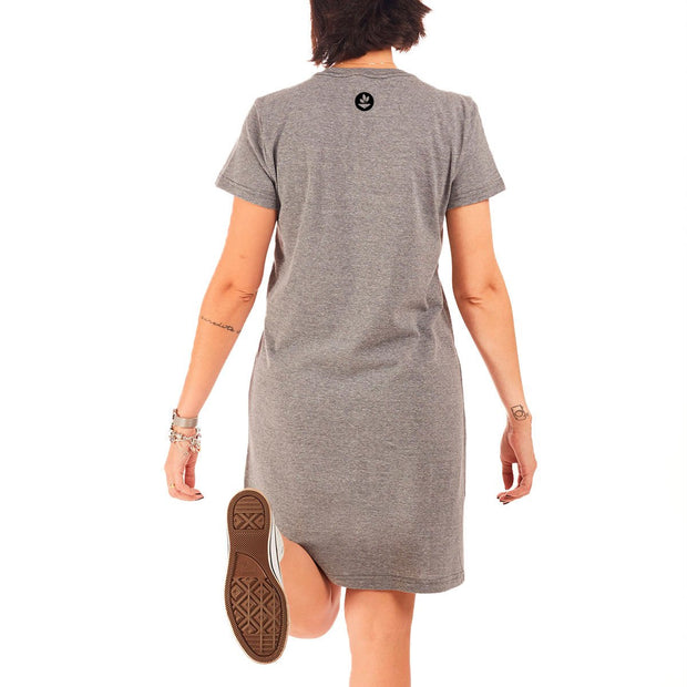 Recycled Polyester (PET) T-Shirt Dress - Slow
