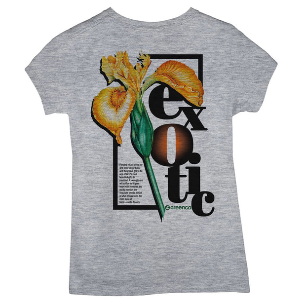 Sustainable Cotton Women's T-Shirt - Exotic