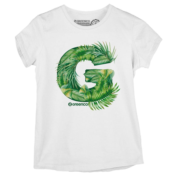 Sustainable Cotton Women's T-Shirt - G Leaves