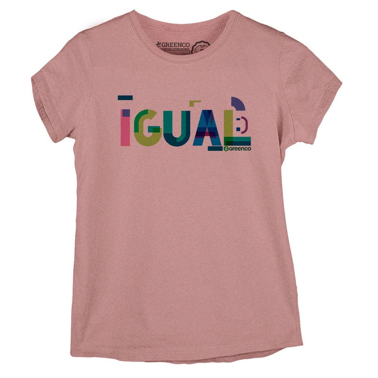 Sustainable Cotton Women's T-Shirt - Igual