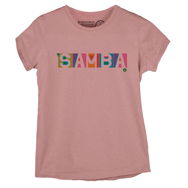 Sustainable Cotton Women's T-Shirt - Samba