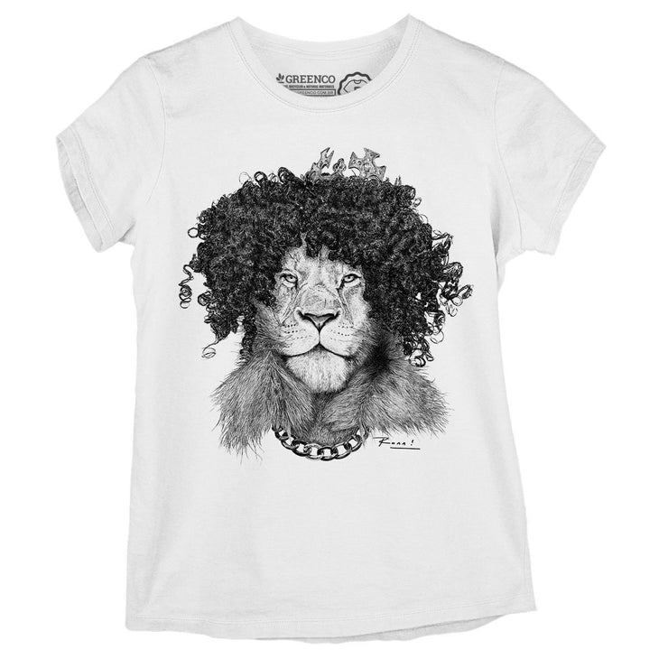 Sustainable Cotton Women's T-Shirt - The Bling King - RK