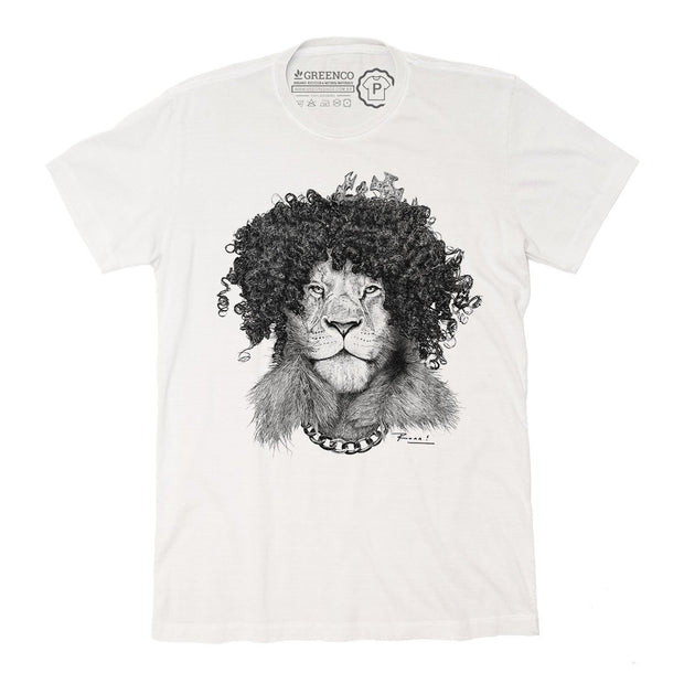 Sustainable Cotton Men's T-Shirt - The Bling King - RK