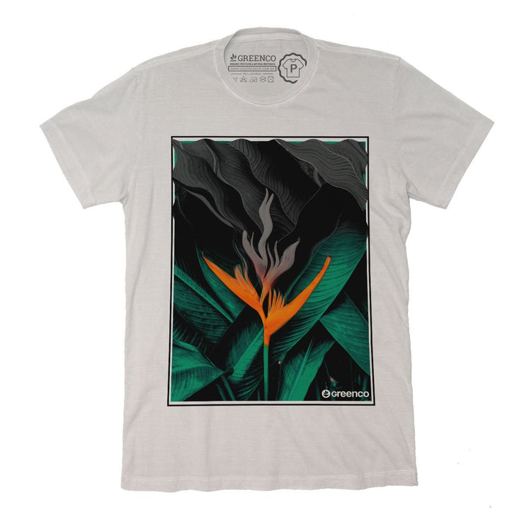 Sustainable Cotton Men's T-Shirt - Botanical
